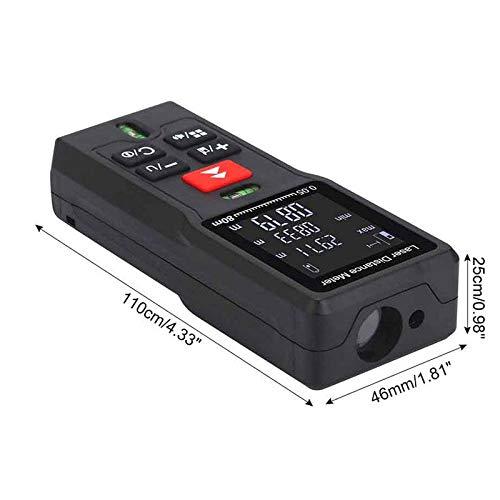 TEEPAO 3PCS Multifunction Level Line Range Finder Portable Precision Area Volume Calculation Length Measure Device Tool