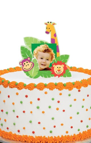 - Wilton Jungle Pals Photo Cake Topper