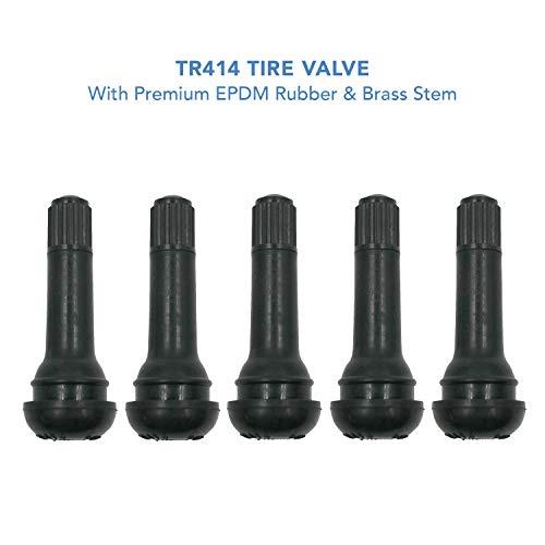 - CK Auto TR414 Rubber Snap-in Tire Valve Stem (5pcs/Bag)