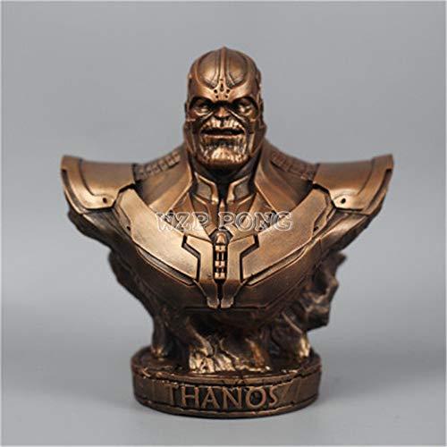 Figura de acción de Sathan de Iron Man Thanos modelo Avengers 3, colección de estatua de Pantera Negra de Hierro, B. 18 CM