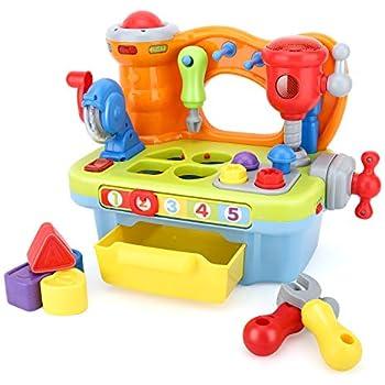 Magnificent Amazon Com Fisher Price Laugh Learning Workbench Toys Inzonedesignstudio Interior Chair Design Inzonedesignstudiocom