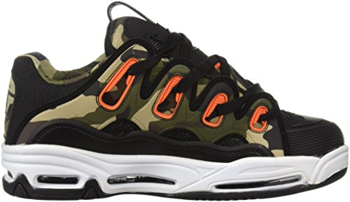 Osiris Men's D3 2001 Skate Shoe Black/Orange/Camo cheap recommend RHfYN6lj