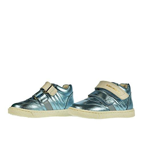 amp; Sneaker 20 Doppio Celeste Gabbana Strappo Dolce SRHqw