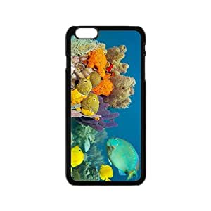 Green Fish Hight Quality Plastic Case for Iphone 6