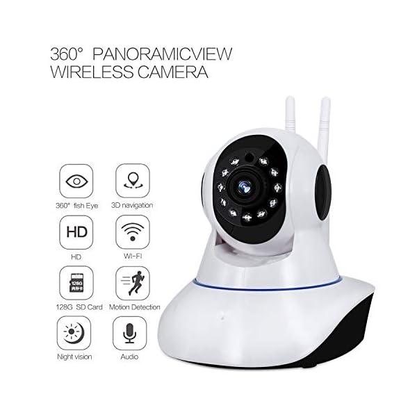 Wireless WiFi IP Camera 1080p Pan/Tilt