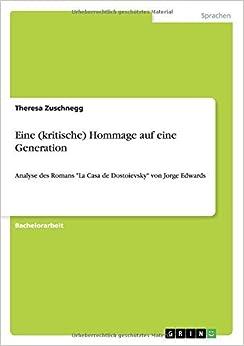 Eine (kritische) Hommage auf eine Generation by Theresa Zuschnegg (2009-11-27)