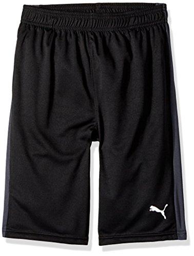 PUMA Big Boy's Puma Boys' Form Stripe Short Shorts, puma black, Medium