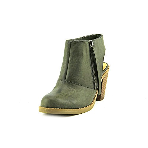 Nine West Livia 3Y Women US 5.5 Green Ankle Boot