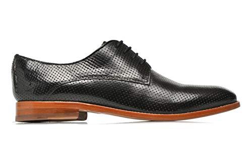 de Noir Ville SHOES MH pour MELVIN CLASS HAND Lacets OF HAMILTON amp; Chaussures à Femme MADE Noir qz1vXwa1