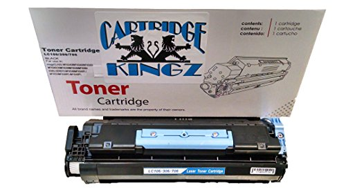 Cartridge Kingz #106 Canon Compatible Toner Cartridge... Yields up to 5,000 pages 106 Black Toner Cartridge
