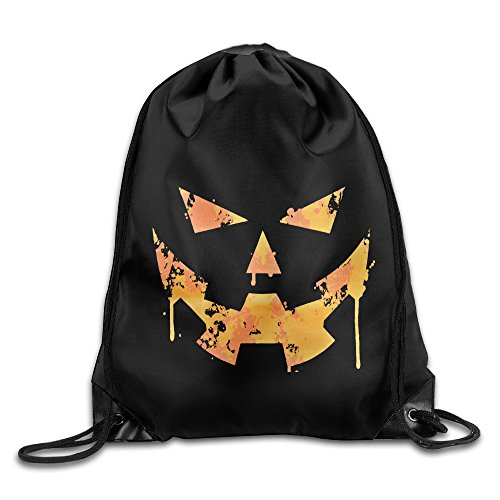 [Sokie Happy Halloween Gym Drawstring Backpack/Travel Bag] (Steelers Halloween Costumes For Adults)