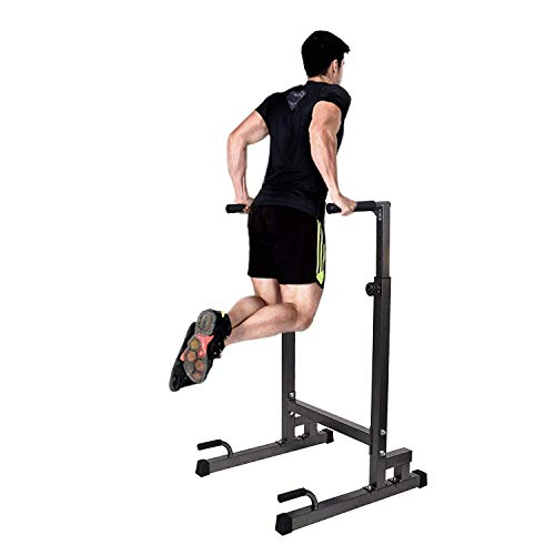 Livebest Heavy Duty Adjustable Power Tower Multi-Function Strength Training Dip Stand Workout Station Fitness Equipment for Home Gym by Livebest (Image #3)