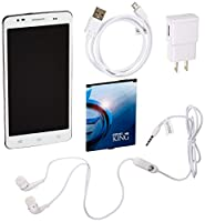 iDroid King Pearl White No Contract Phone - Retail Packaging (GSM Service)
