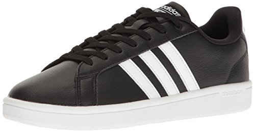 Adidas Classic Sneakers - adidas Women's Shoes | Cloudfoam Advantage Sneakers, Black/White/Black, (7.5 M US)