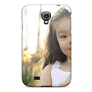 For LbJJRcu2042aBsQQ Cute Portrait Protective Case Cover Skin/galaxy S4 Case Cover