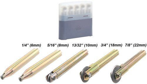 Rubi 5 pcs Wheel Kit TS/TR Tile Cutter (6mm, 8mm, 10mm, 18mm, 22mm) by Rubi