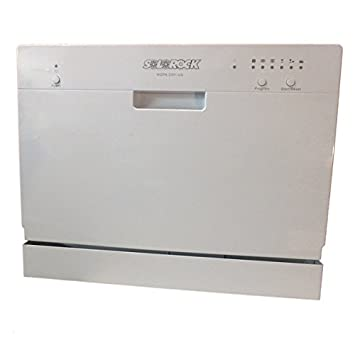 Image result for SoloRock 6 Settings Countertop Dishwasher