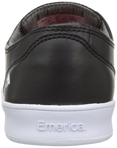 Romero M mode Baskets By Emerica Black white Leo homme white Laced qSxwfPtI