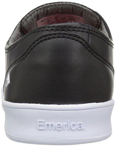Emerica EmericaThe Romero Laced - Scarpe da Skateboard Uomo, Nero (Black/White/White), 39.5 EU