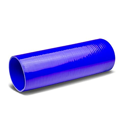 4 to 4 Blue 12 Long Straight 3-Ply Silicone Hose for Turbo//Intercooler//Intake Piping