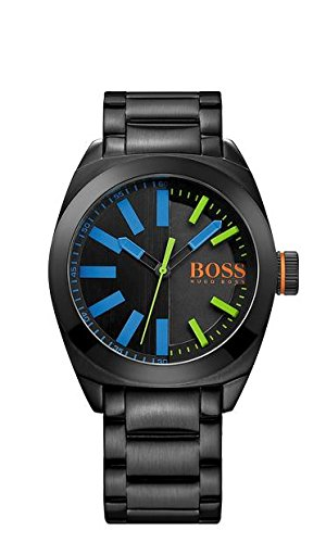 Hugo Boss Orange London Black Dial SS Quartz Men's Watch 1513058