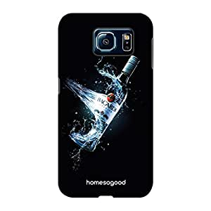 HomeSoGood Its Time To Induce Hangover Black 3D Mobile Case For Samsung S6 ( Back Cover)