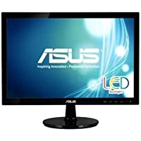 Asus LCD VS197T-P LED Backlight 18.5inch Wide 5ms 50000000:1 1366x768 HDCP DVI-D Speaker Retail