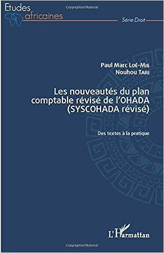 Amazon Fr Les Nouveautes Du Plan Comptable Revise De L