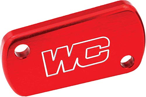 Works Connection 02-19 Honda CRF450R Rear Brake Reservoir Cap (RED)
