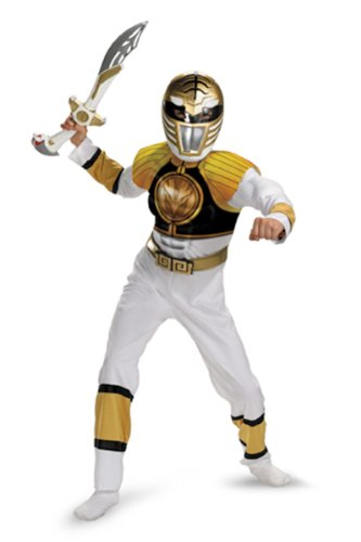 Disney Power Ranger Costumes (Muscle Chest Costume - Medium)