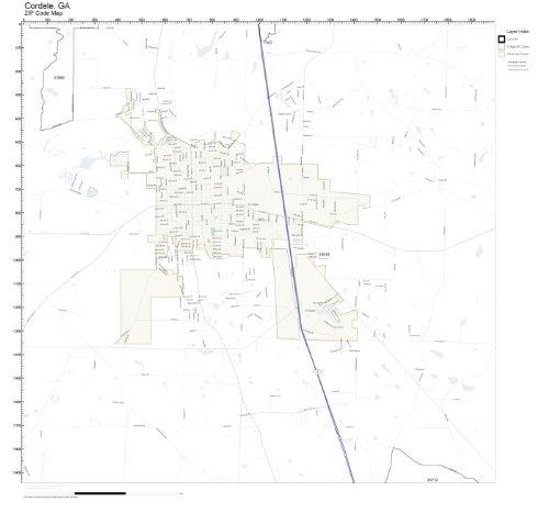 Amazon.com: ZIP Code Wall Map of Cordele, GA ZIP Code Map ... on chatt hills ga map, mayfield ga map, valdosta ga map, doctortown ga map, lagrange ga map, tifton ga map, whitewater ga map, alexander city ga map, shawnee ga map, ty ty ga map, florence ga map, st. marys ga map, cusseta ga map, newberry ga map, north druid hills ga map, hapeville ga map, gainesville ga map, bloomington ga map, meridian ga map, newton ga map,