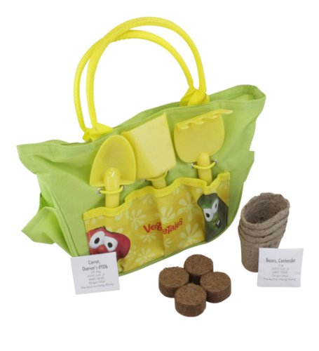 Veggie Tales Gardening Tote & Starter Kit