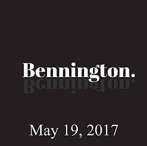 Bennington, May 19, 2017 Radio/TV Program