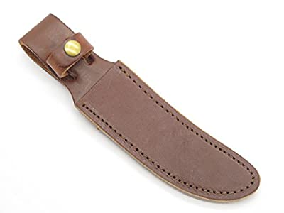 Schrade 153 160 165OT Woodsman Fixed Blade Leather Hunting Knife Sheath Vintage New Old Stock