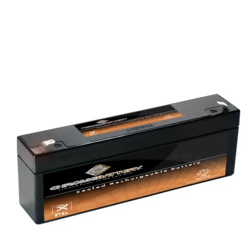 12V 2AH SLA Battery replaces np2-12 ub1222 pc1220