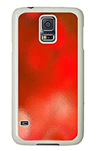 Samsung S5 case customizable cases Red Abstract PC White Custom Samsung Galaxy S5 Case Cover