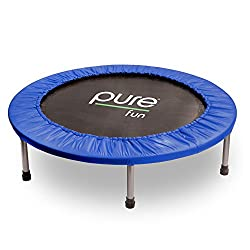"Pure Fun 40"" Mini Rebounder Trampoline, Ages 13+"