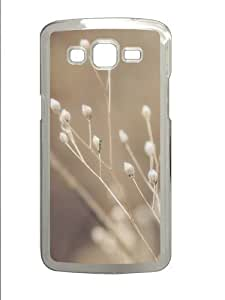 Autumns visage Polycarbonate Hard Case Cover for Samsung Grand 2/7106 Transparent