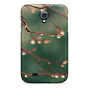 Amazing Art-Cases Design High Quality Water Drops Spring Cover Case With Excellent Style For Galaxy S4