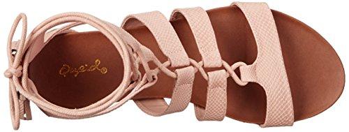 Gladiator Peach 01 Baya mujer Sandal de Qupid qORznEw1