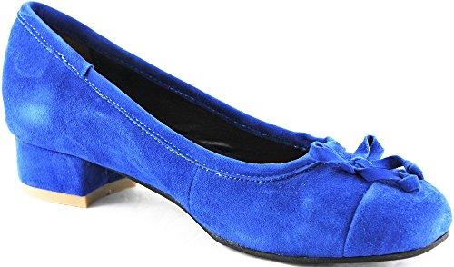 femme Andrea bleu pour Ballerines Conti bleu twqO4z1