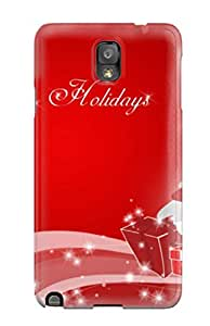 Hot Style TPVhLML3869bkknW Protective Case Cover For Galaxynote 3(christmas Spirit)