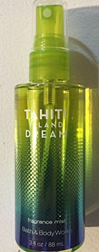 Bath and Body Works Tahiti Island Dream Fragrance Mist Spray Splash Mini Travel Size 3 Ounce ()