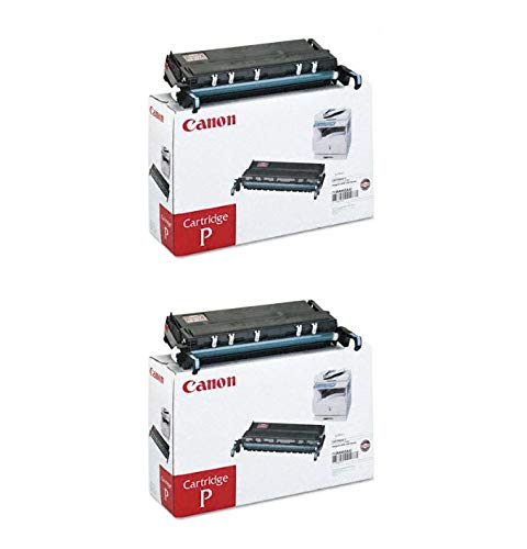 Canon 7138A002AA CRG P OEM Toner Cartridge 2 Pack, 10000 Page-Yield Per Ctg, Black