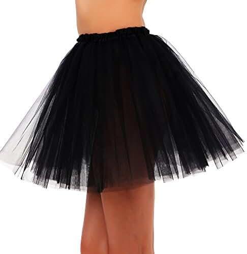 Tutus Tulle Skirt for Girl 3 Layered Ballerina Running Party Skirt