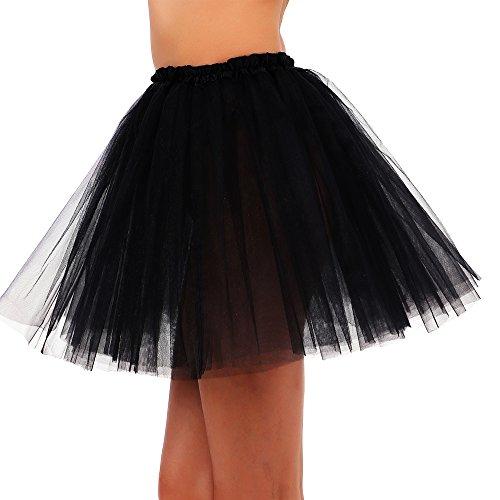 Women (Black Ballerina Halloween Costume)