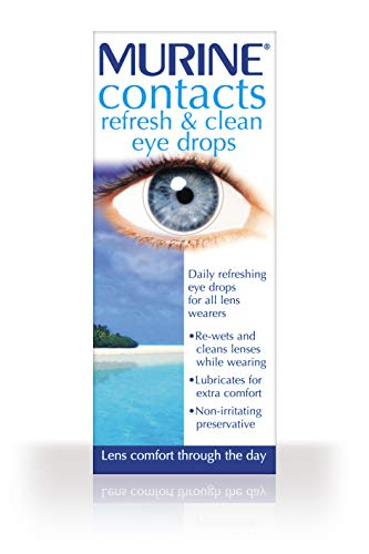 Contacts refresh & clean eye drops