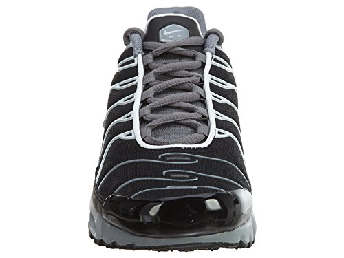 Nike Air Max Plus Lifestyle Fashion Sneakers Heren Zwarte Nieuwe 852630-015 Koel Grijs / Wolf Grijs-wit