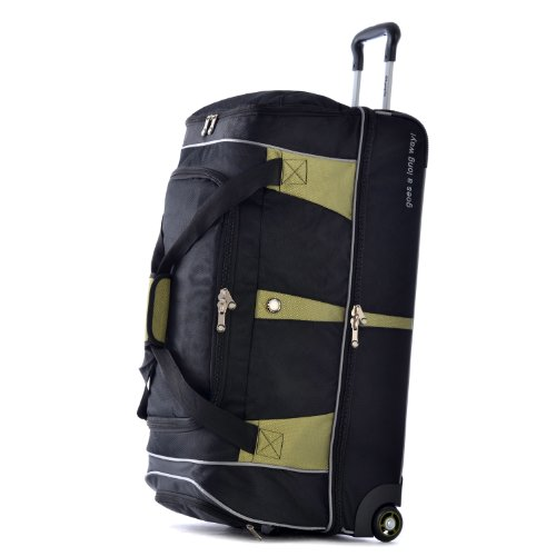 Olympia 30-inch Drop Bottom Rolling Duffel Bag