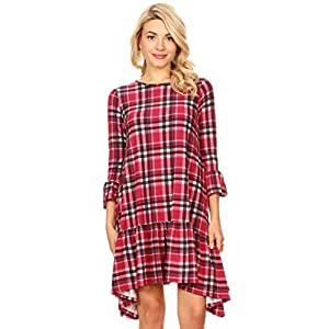Long Sleeve and Sleeveless High Low Dresses for Women Regular and Plus Size – Made in USA